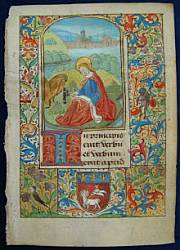 Book of Hours, Rouen, France