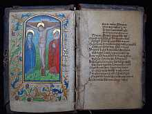 Fragment eines Stundenbuchs oder Missale, Fragment of a Medieval Book of Hours or of a Missal