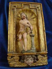 Sculpture, Christ to be scourged